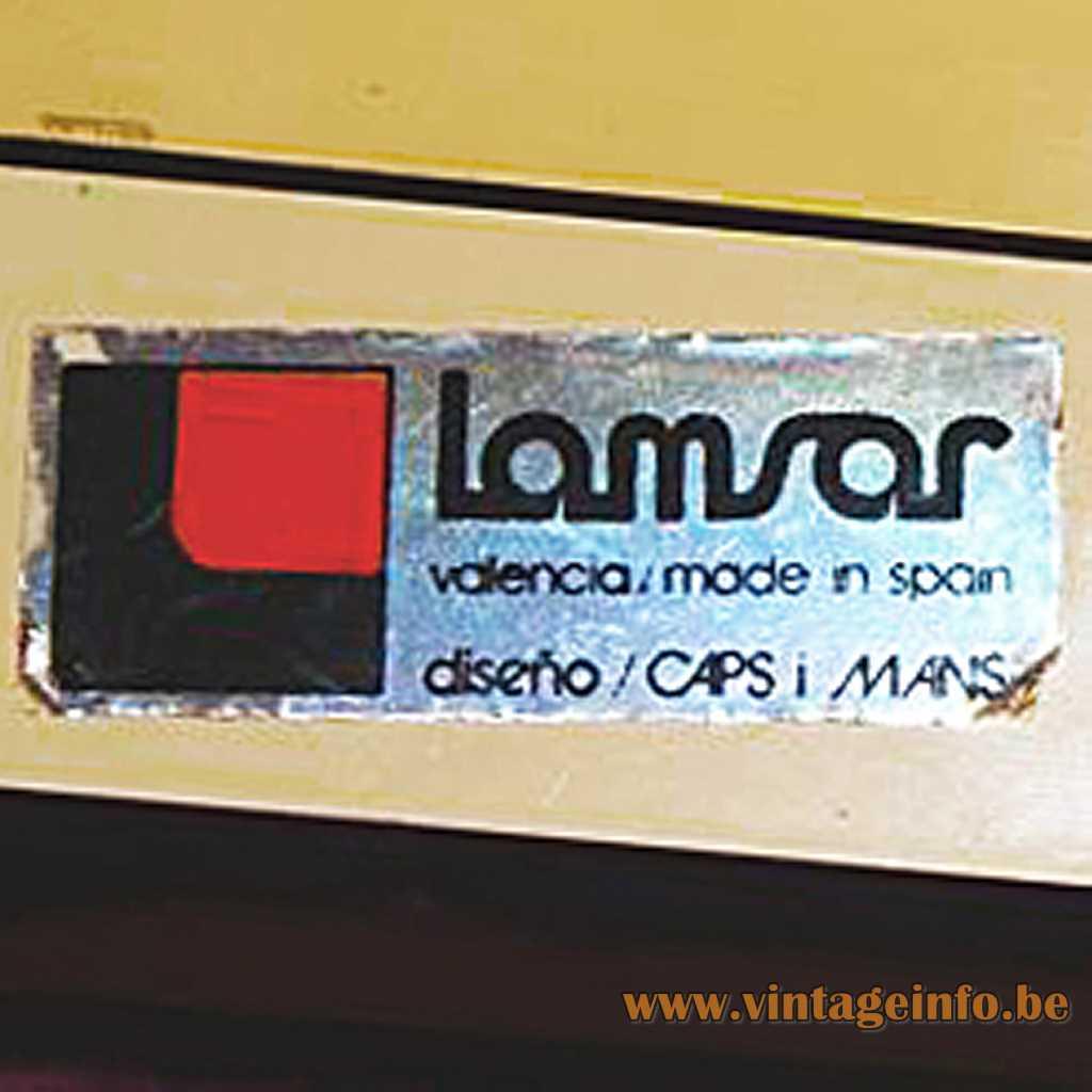 Lamsar Spain label