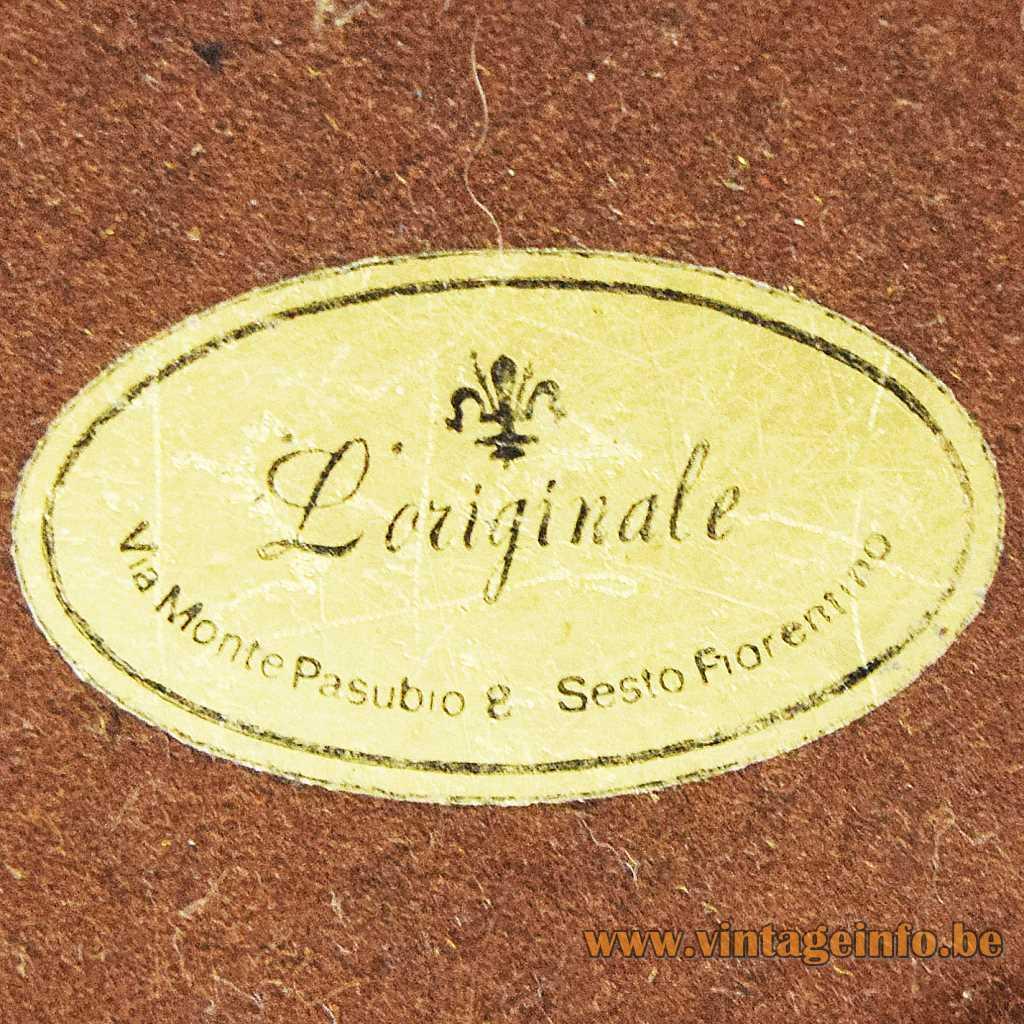 L'Originale label