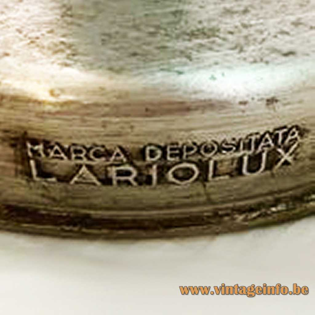 Lariolux Marca Depositata label