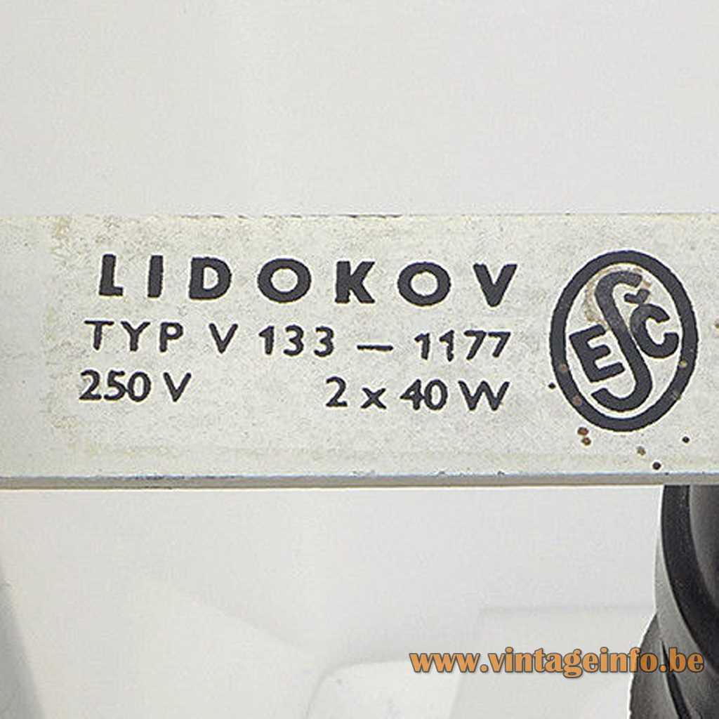 Lidokov label logo
