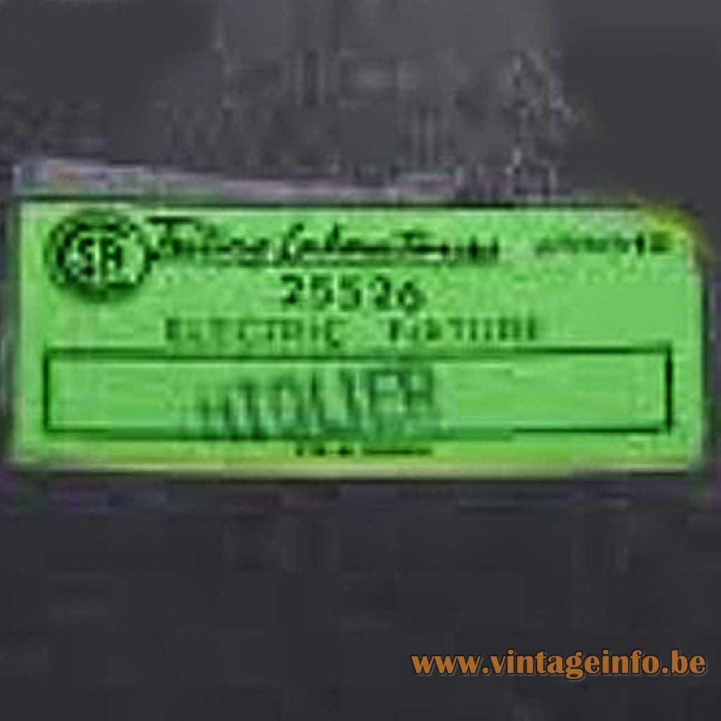 Lightolier label