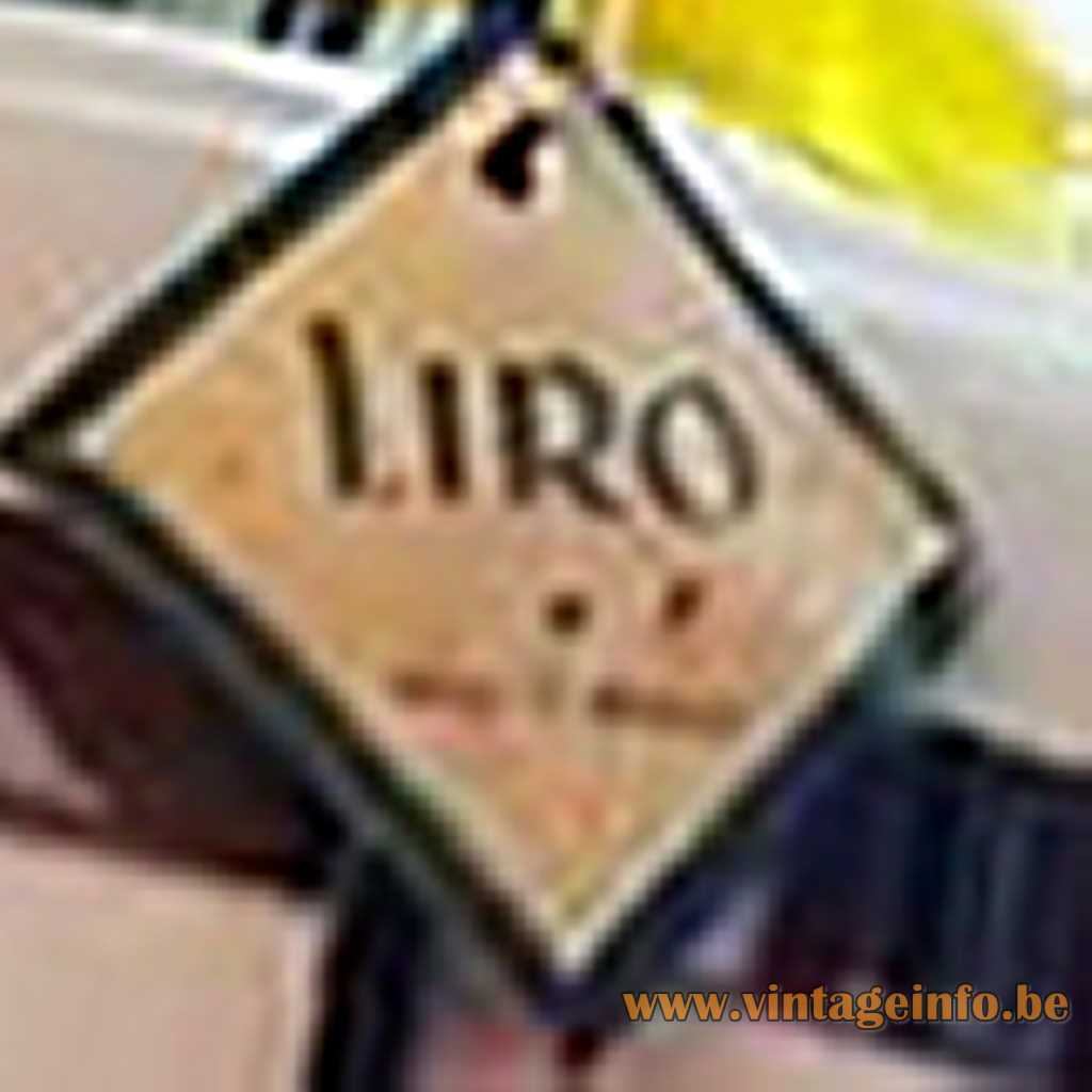 Liro Lighting BVBA Aalst label