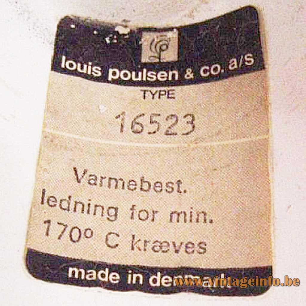 Louis Poulsen label
