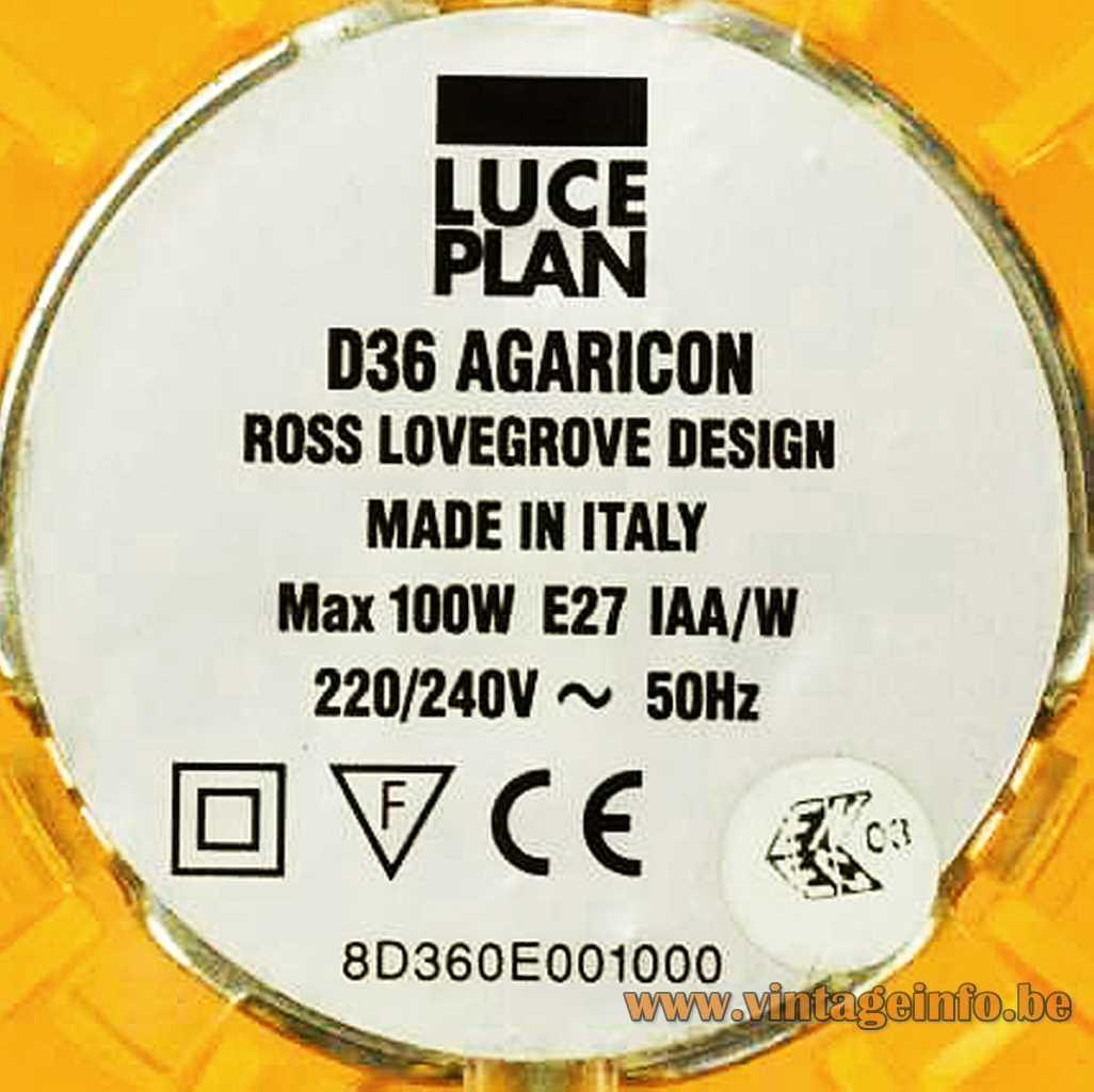 Luceplan label