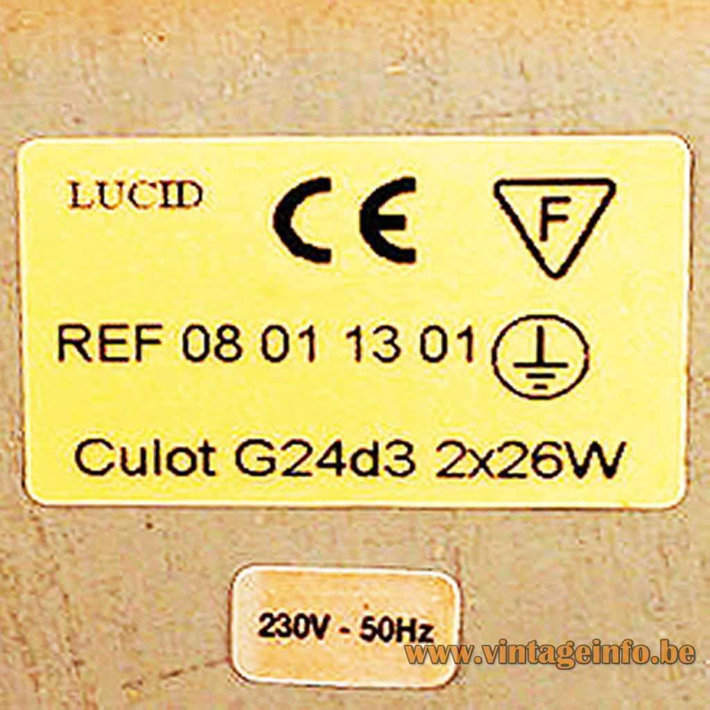 Lucid label