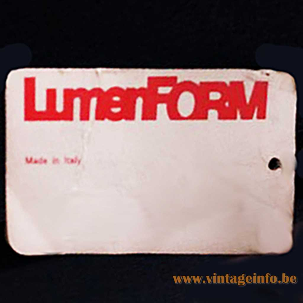 LumenFORM label