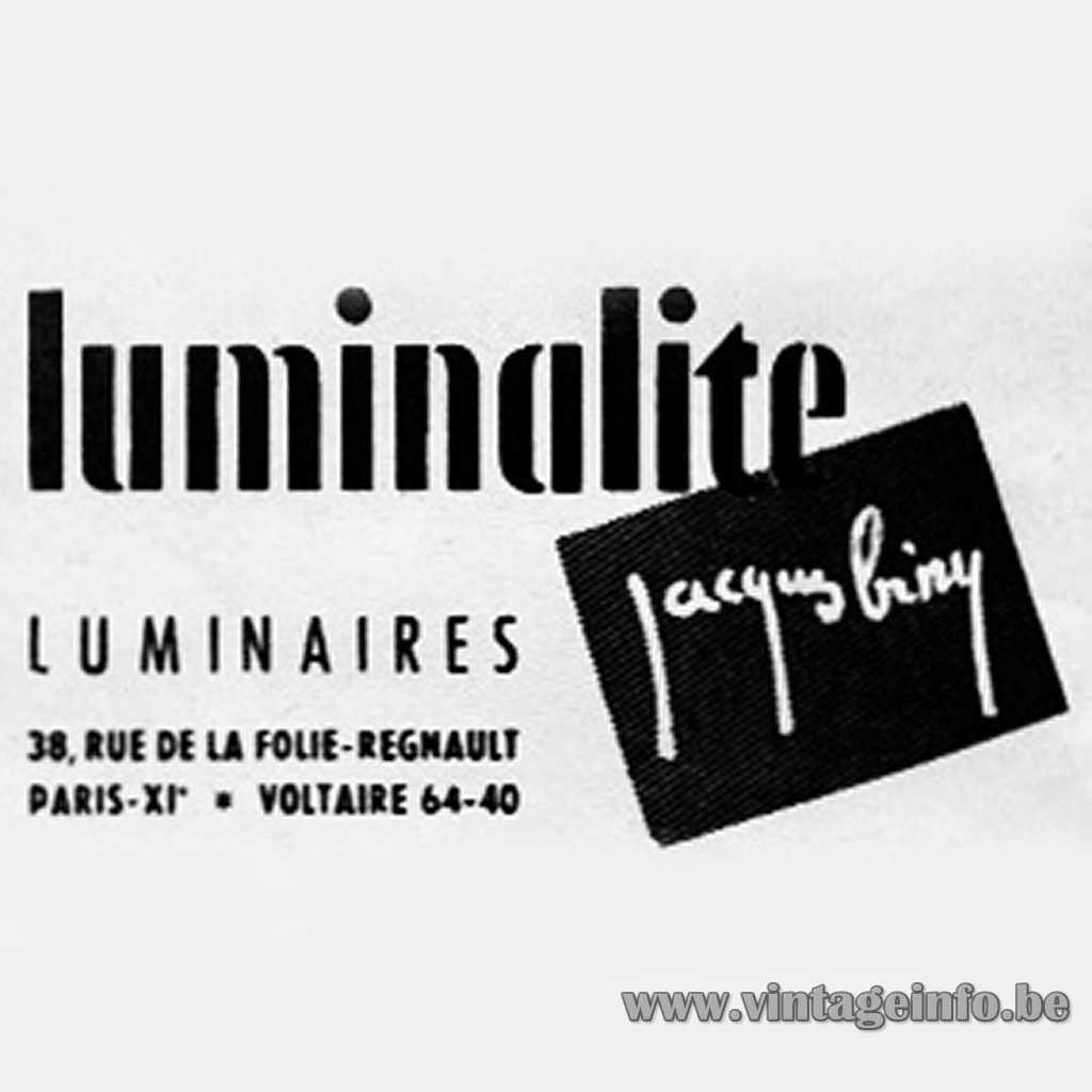 Luminalite Jacques Biny logo