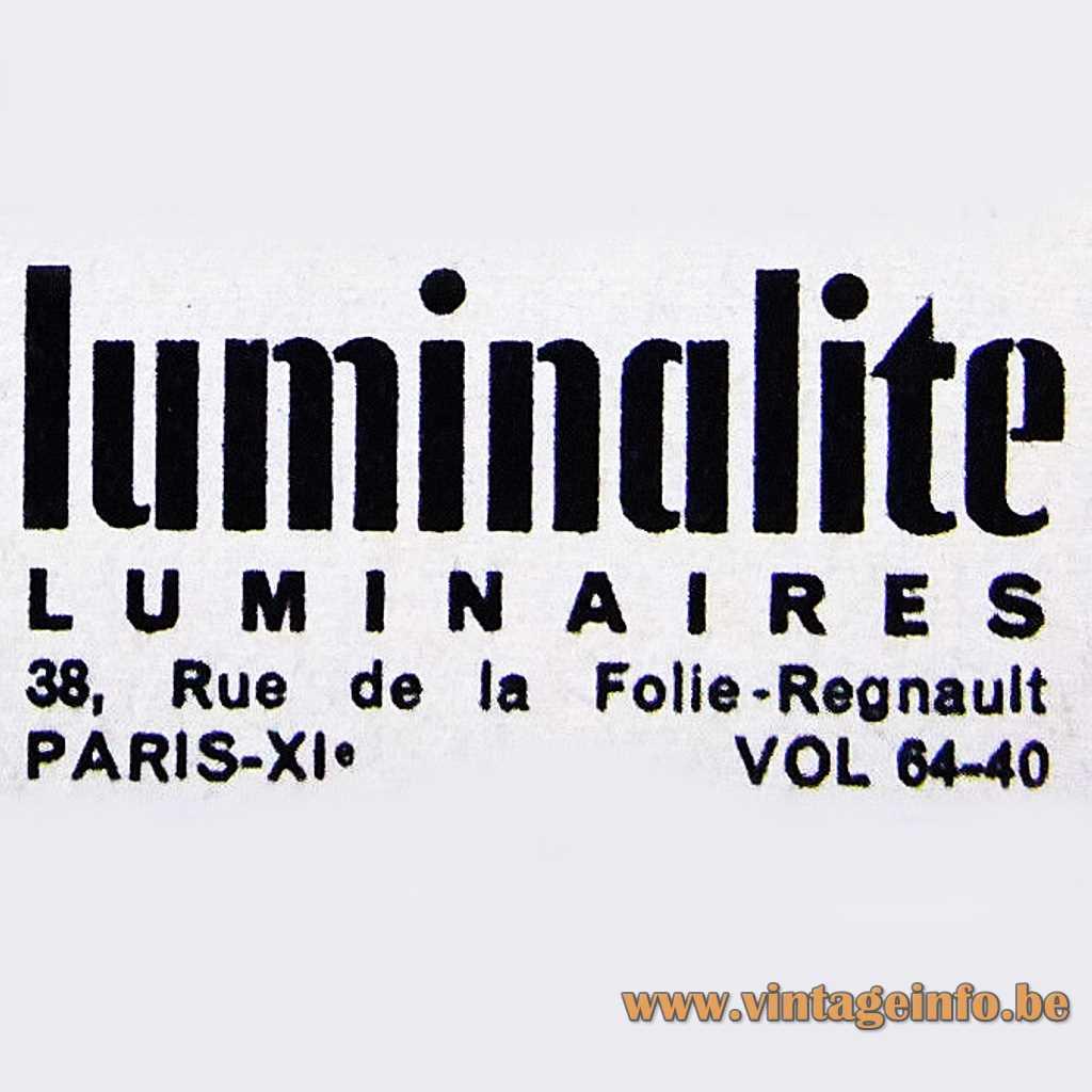Luminalite Luminaires Paris logo