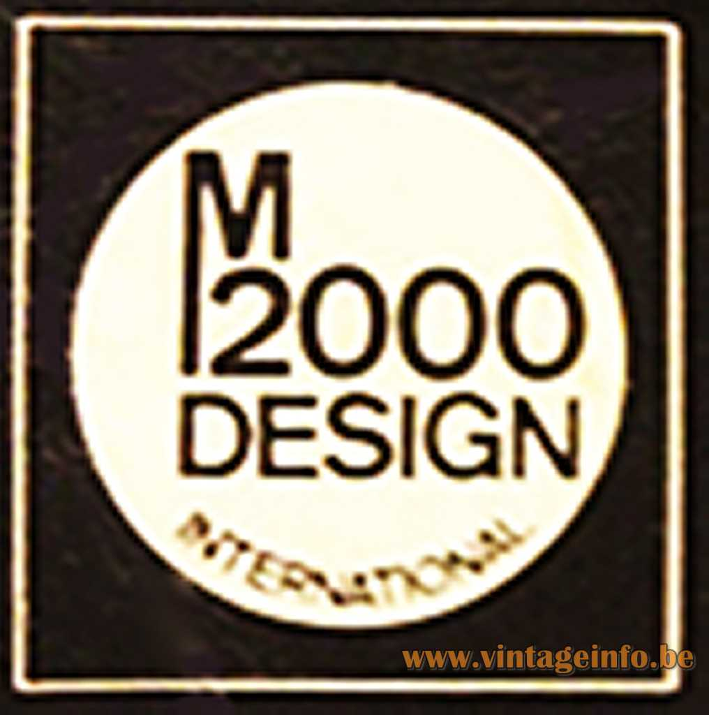 M 2000 Design International label