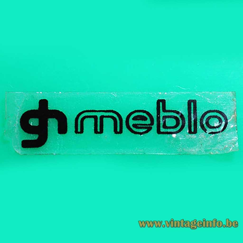 Meblo - Harvey Guzzin label