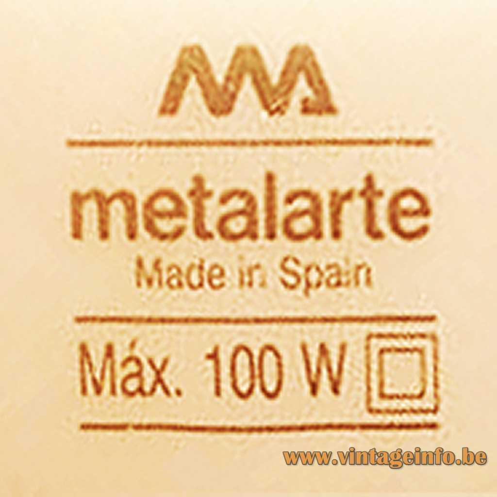 Metalarte label