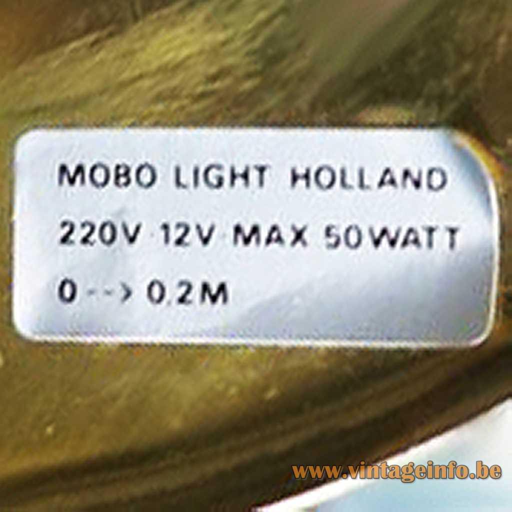 Mobo Light Holland label