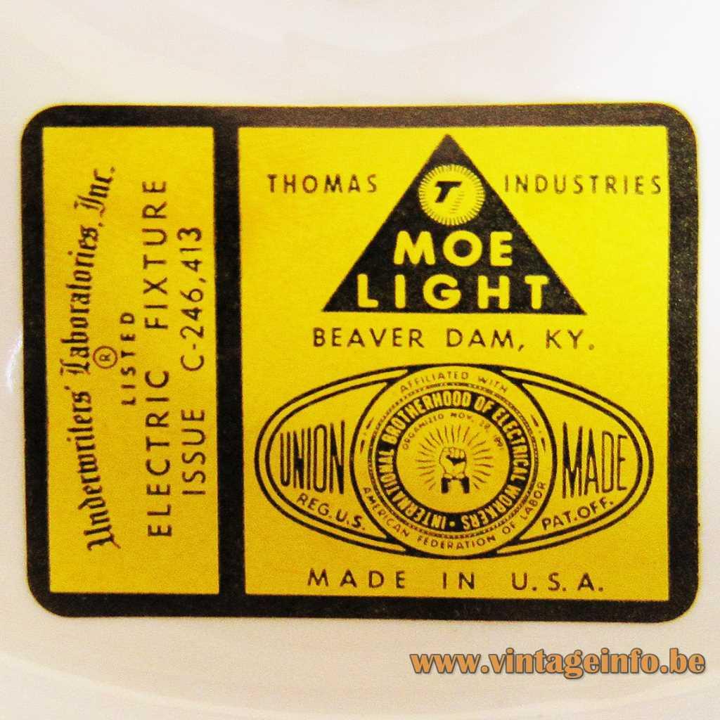Moe Light label