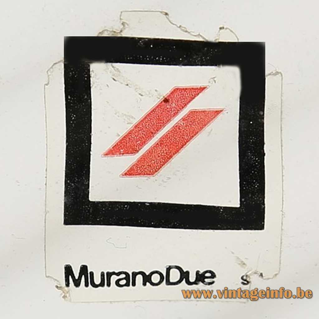 MuranoDue label