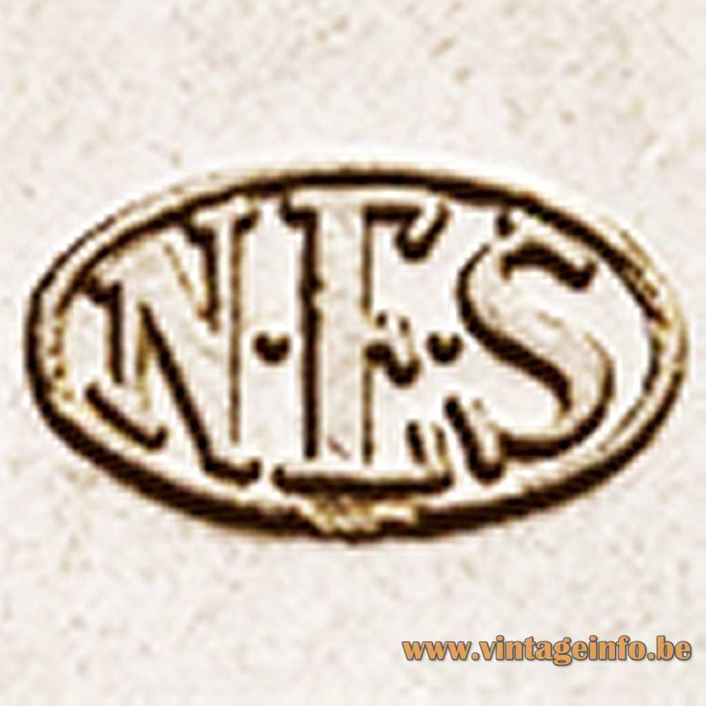 N.E.S. Nordisk Elektricitets Selskab logo