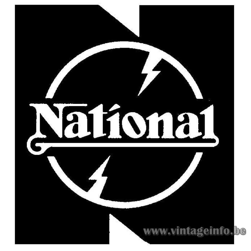 National Matsushita Electric Japan label Panasonic
