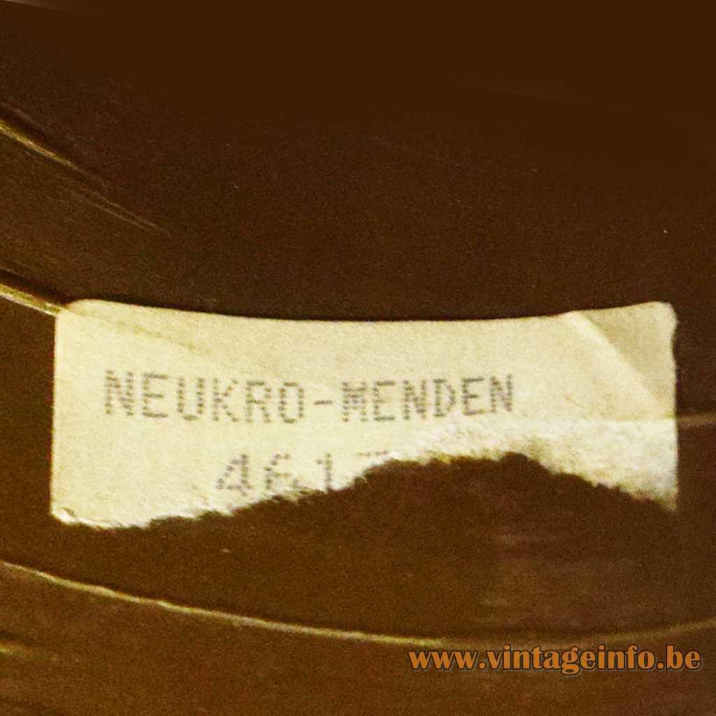 Neukro-Menden label