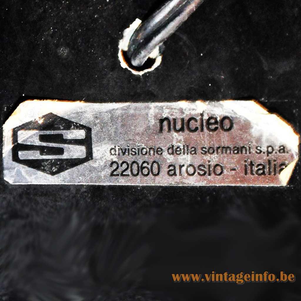 Nucleo Sormani label