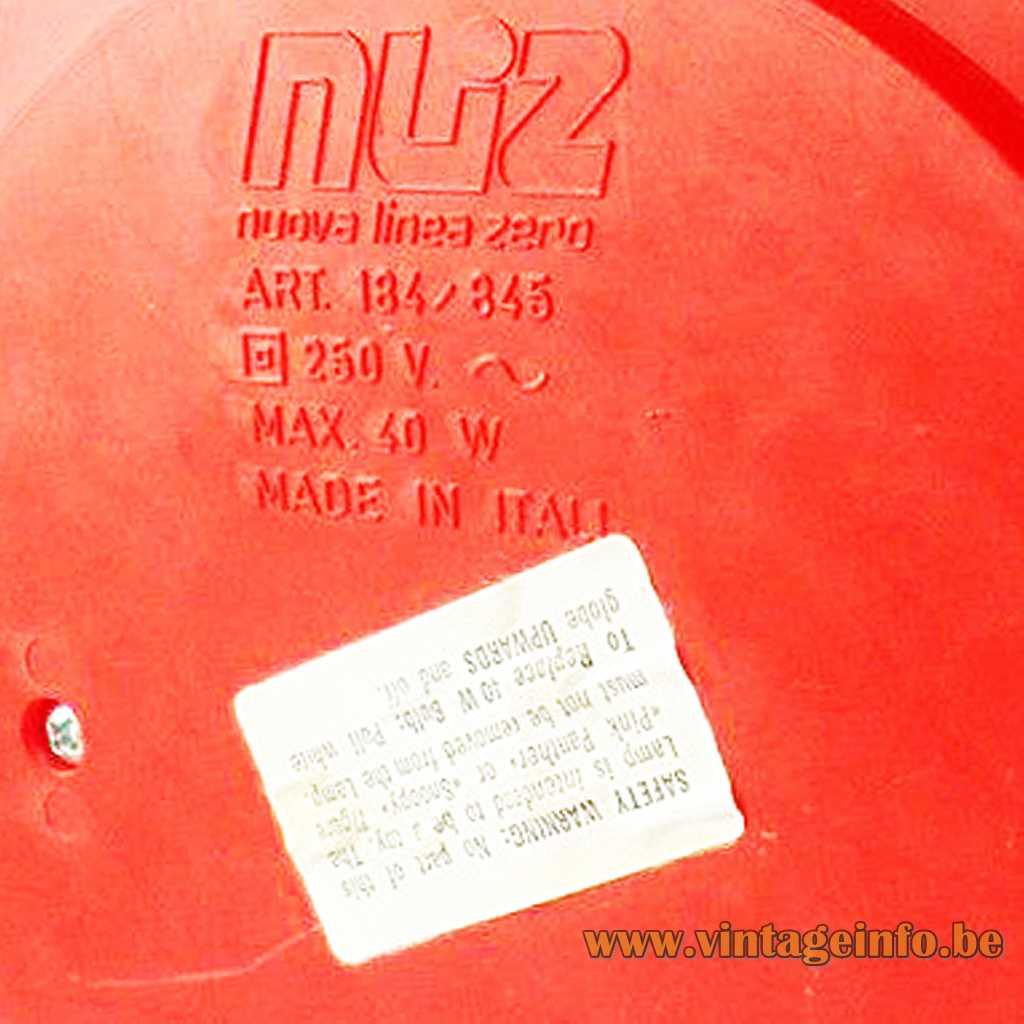 Nuovo Linea Zero pressed logo