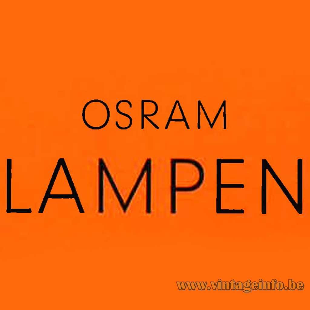 OSRAM logo 1958