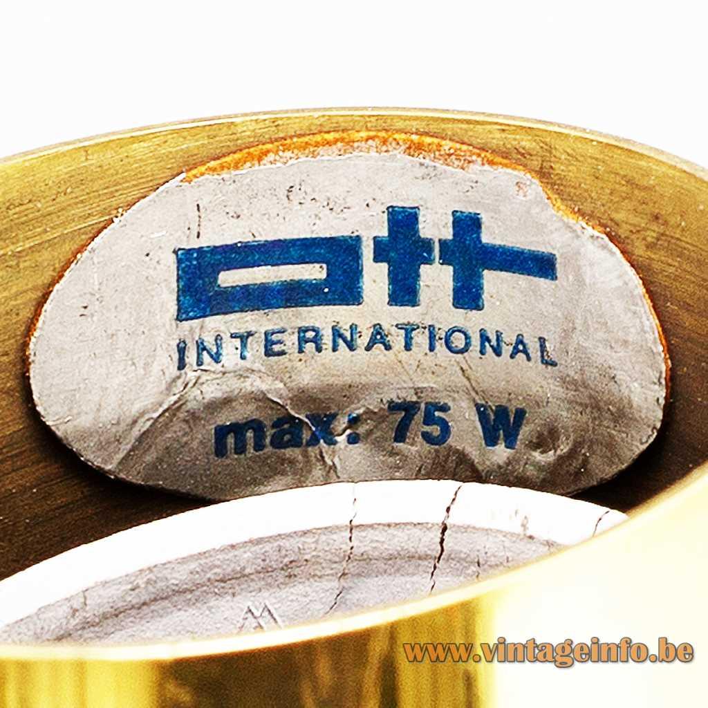 Ott International GmbH label