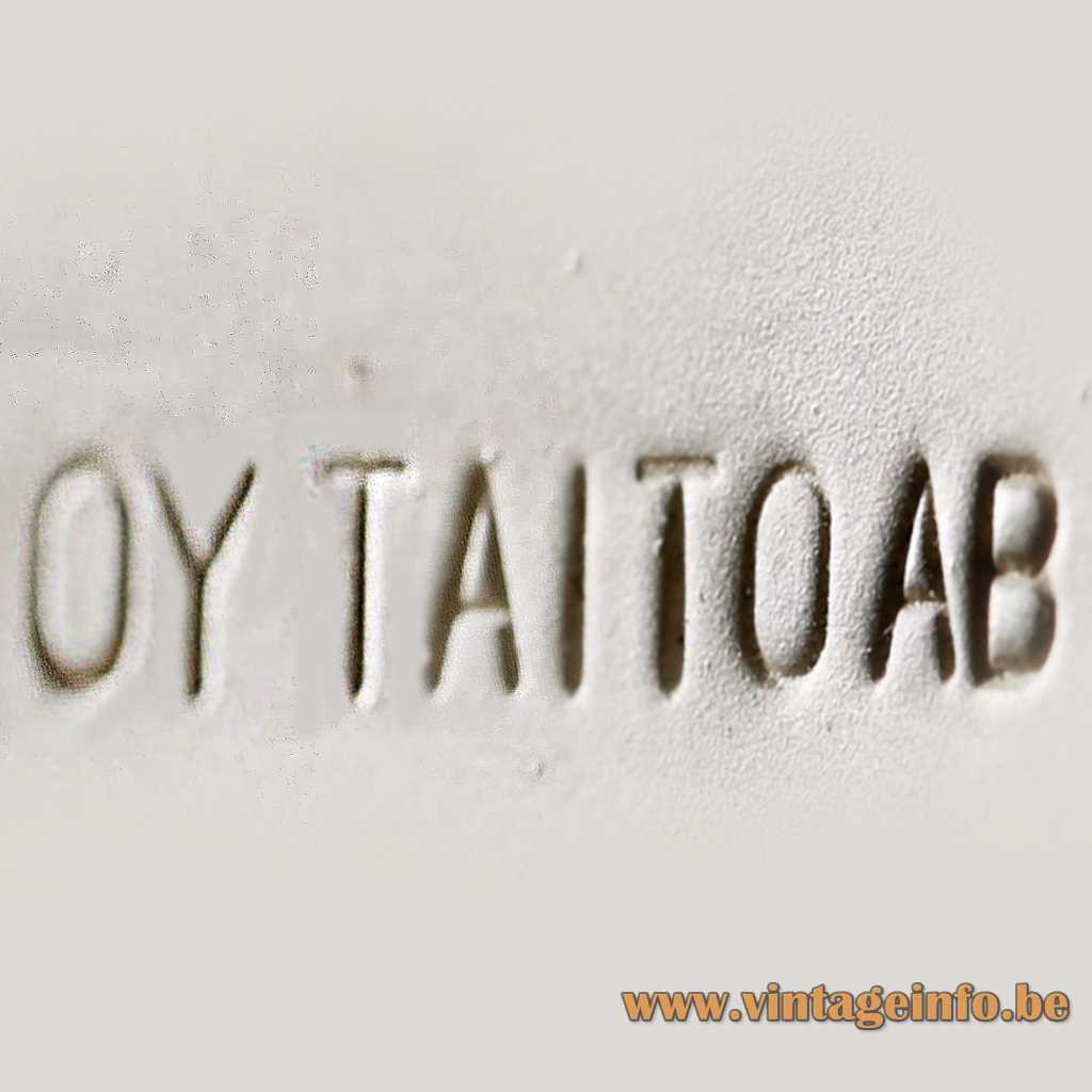 OY TAITO AB pressed label