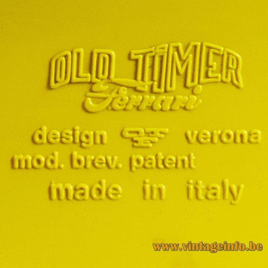 OTF - Old Timer Ferrari pressed logo