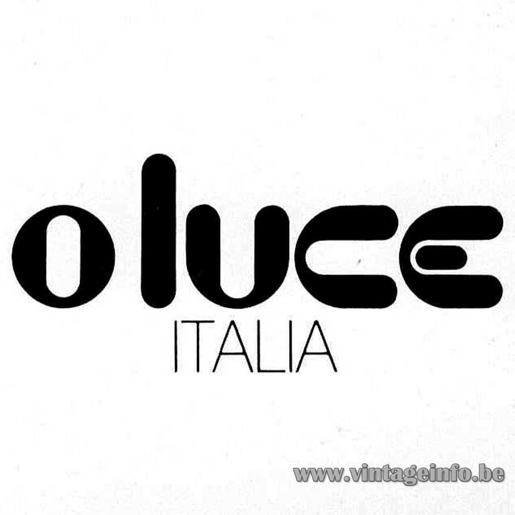 Oluce Italia 1980s logo