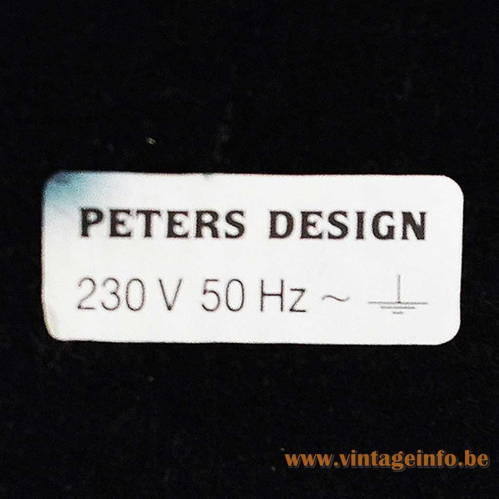 Peters Design label