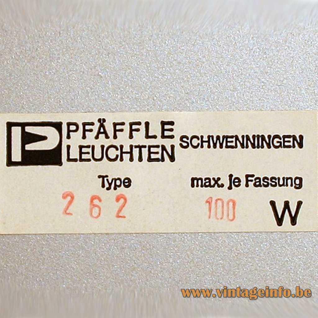 Pfäffle Leuchten label