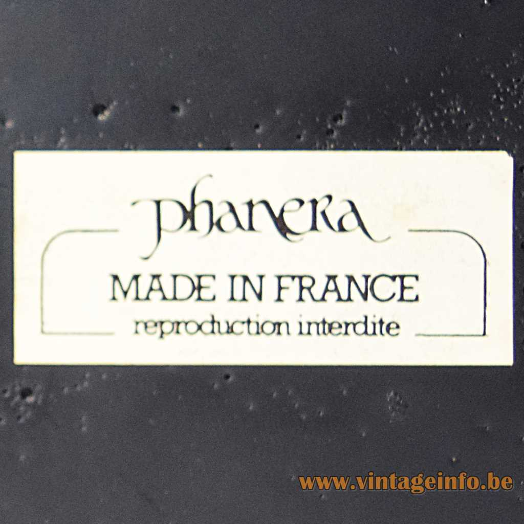 Phanera label