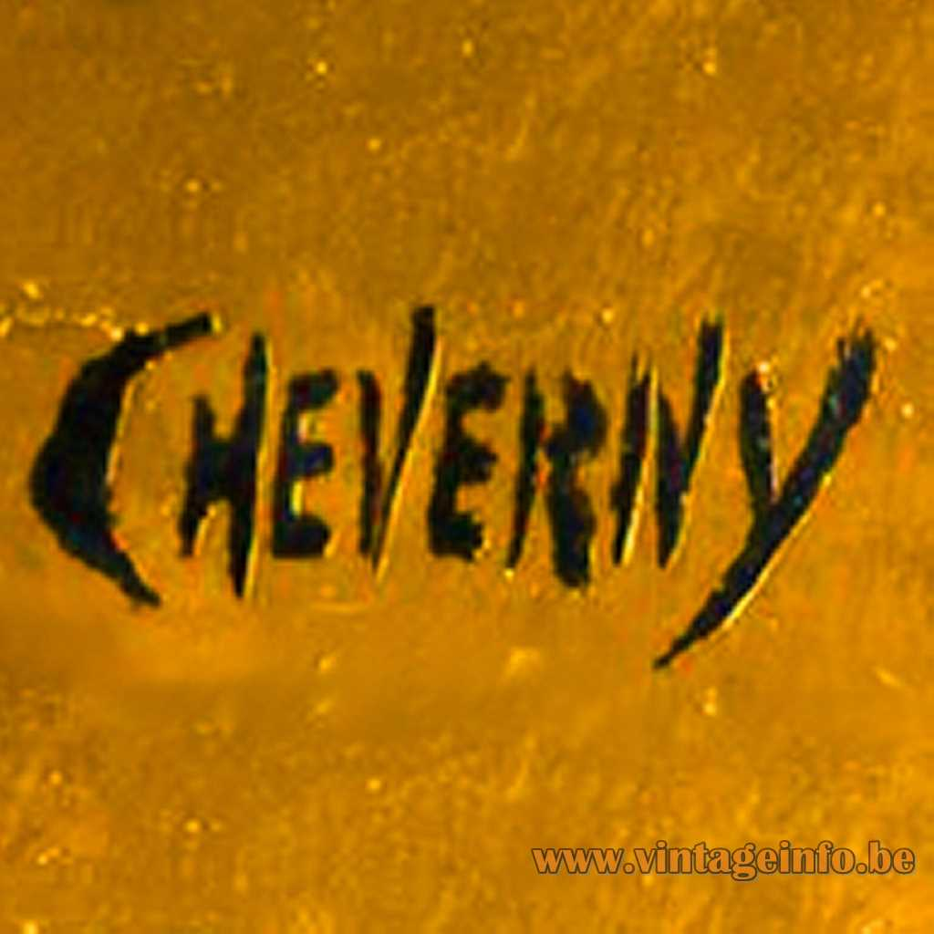 Philippe Cheverny signature logo