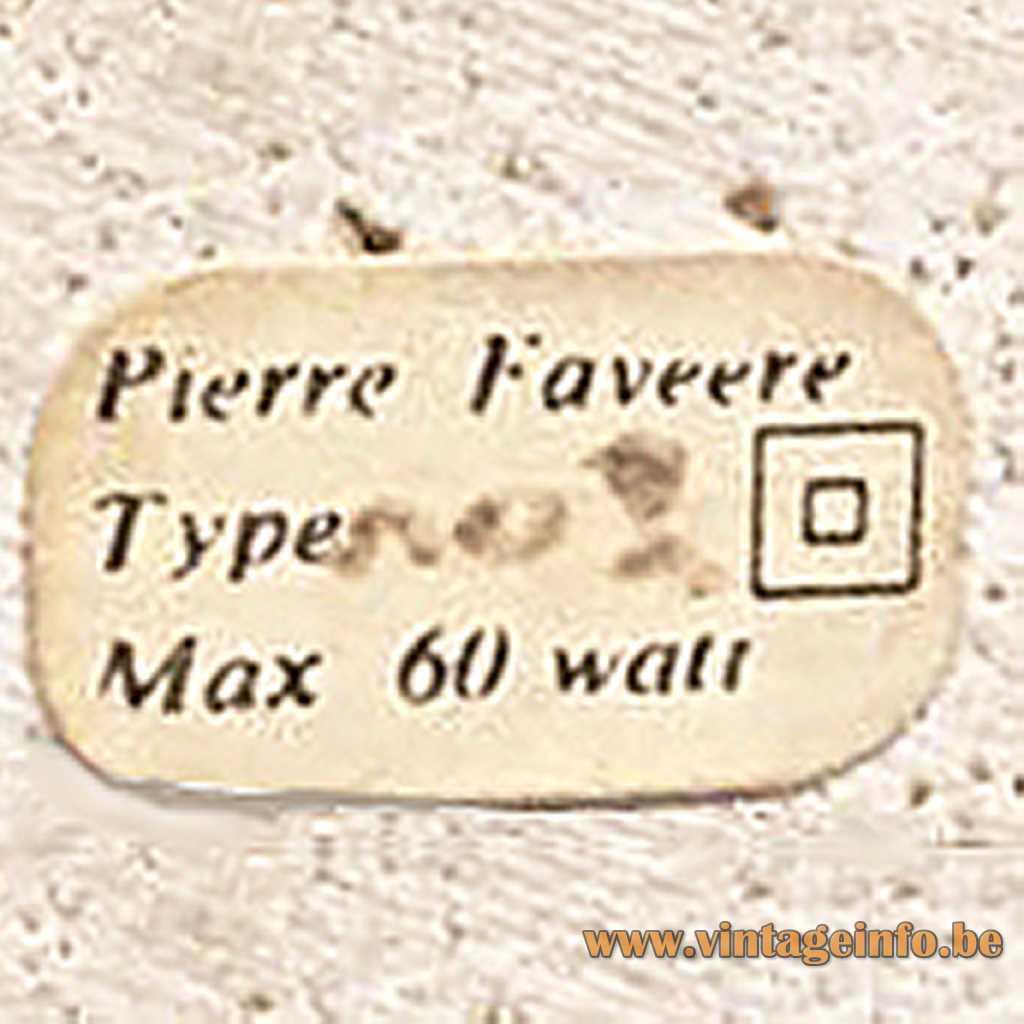 Pierre Faveere label