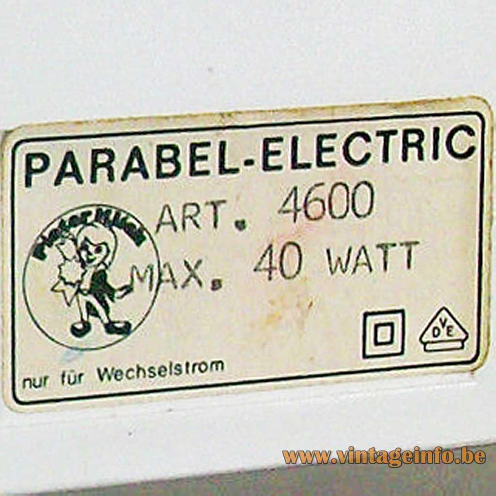 Pieter Klick Label Parabel Electric label