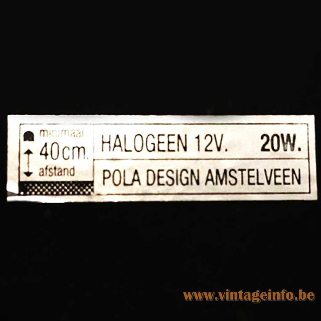 Pola Design Amstelveen label