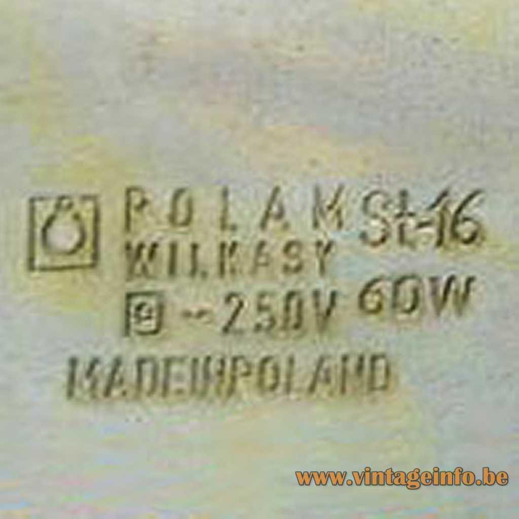 Polam pressed label