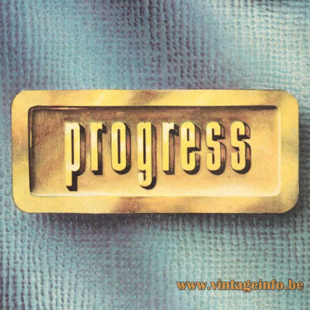 Progress Lighting 1955 logo