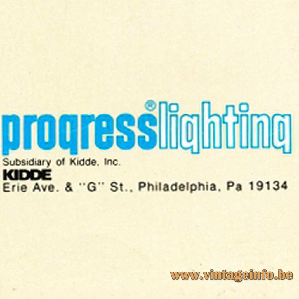 Progress Lighting 1985 logo