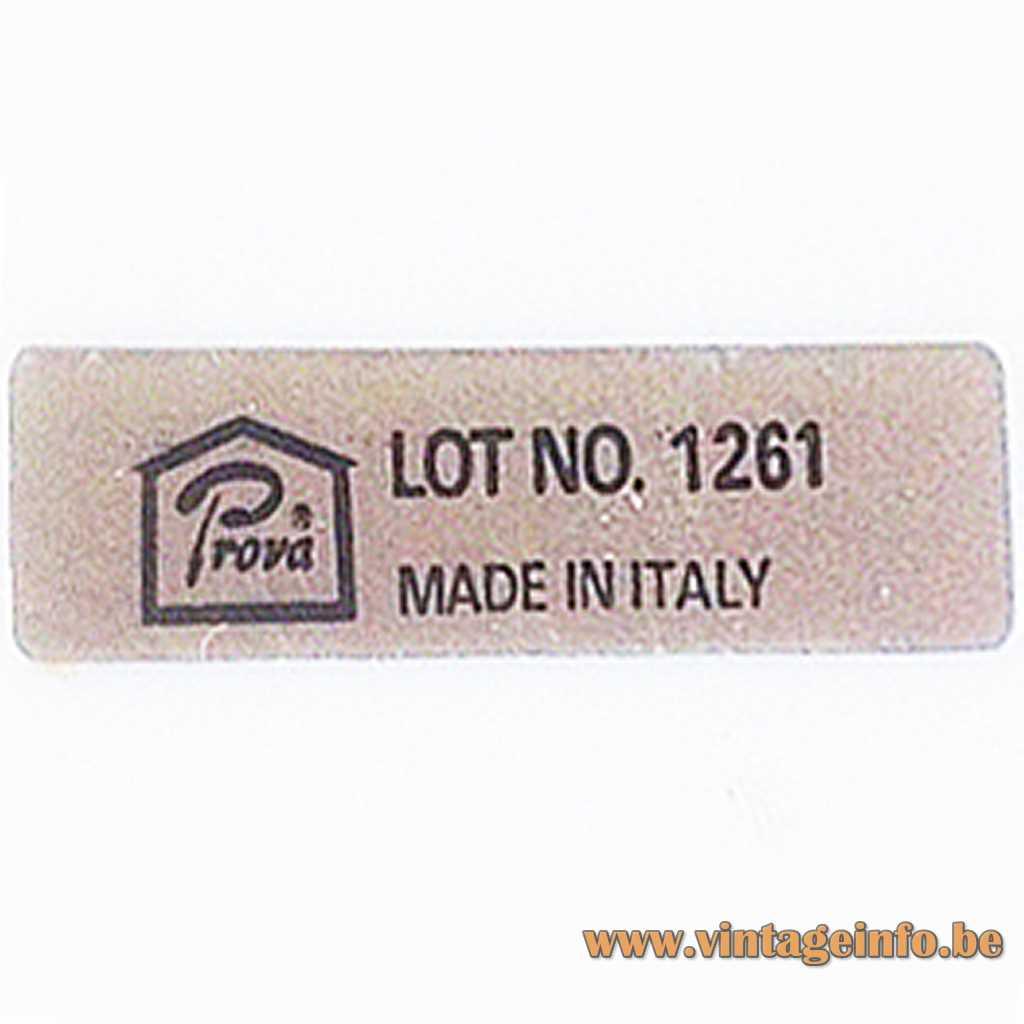 Prova Made In Italy Label
