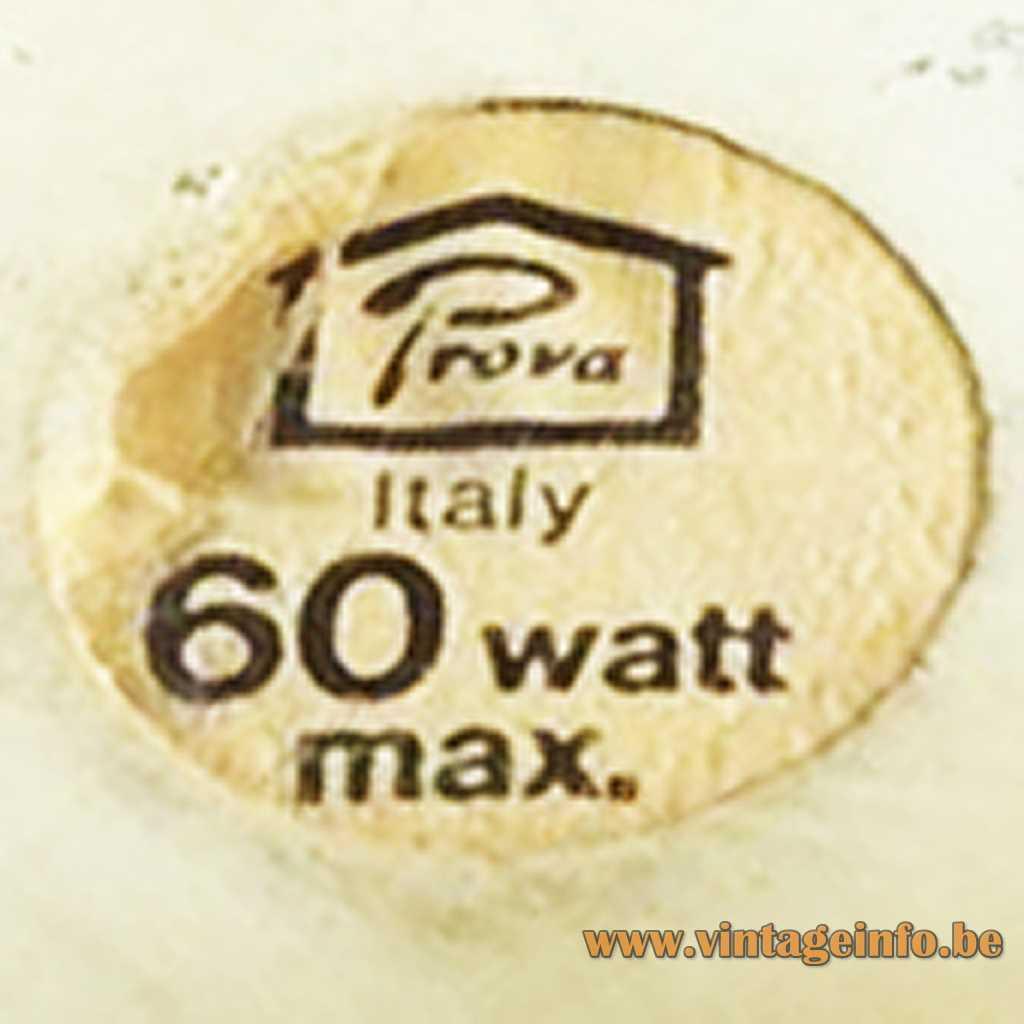 Prova Italy label