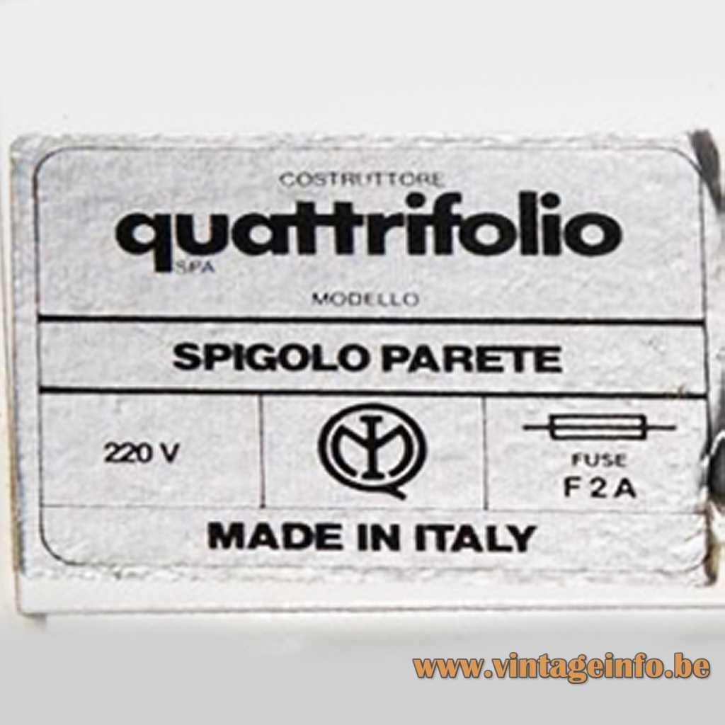 Quattrifolio label