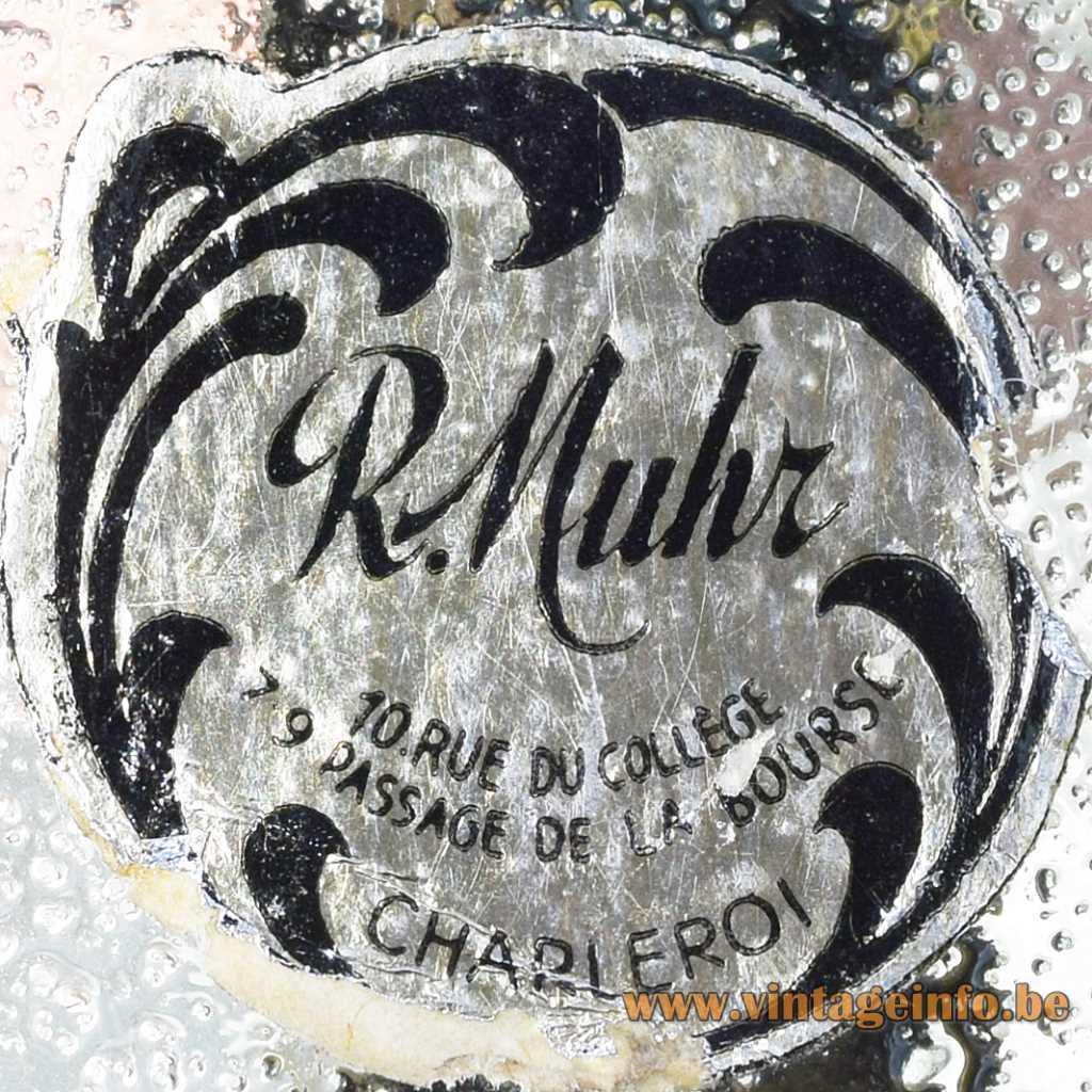 R. Muhr Belgium label