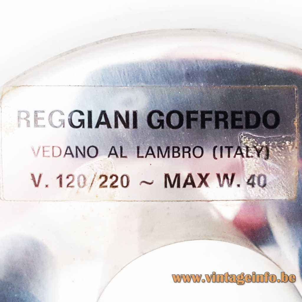 Reggiani Goffredo label