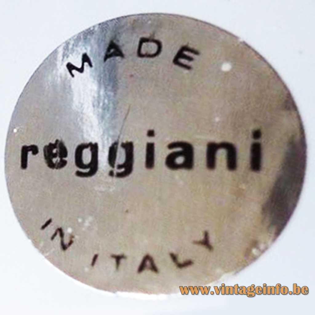Reggiani label