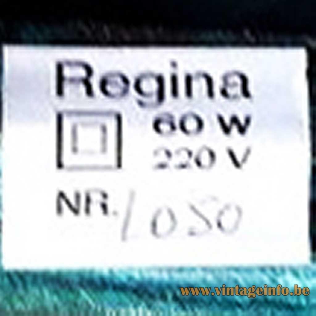 Regina label