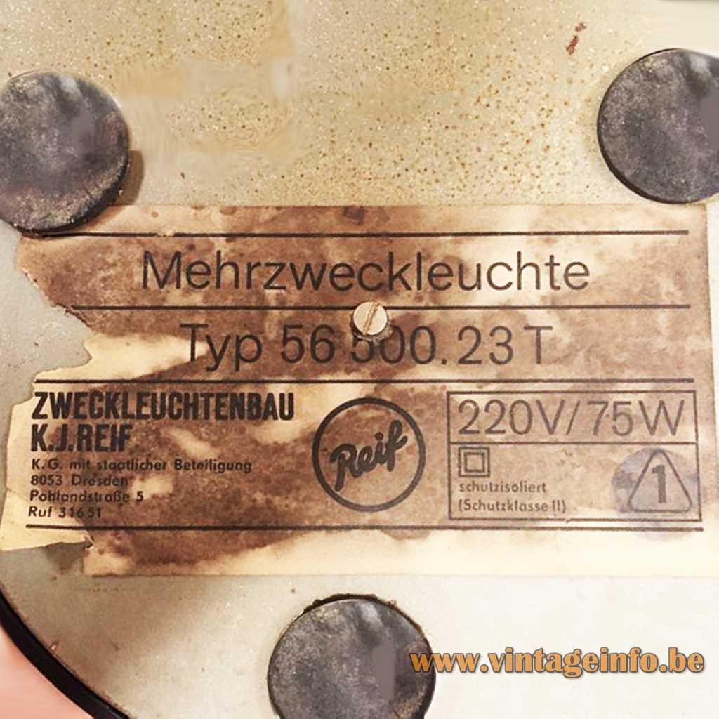 Reif - Zweckleuchtenbau K.J. Reif label
