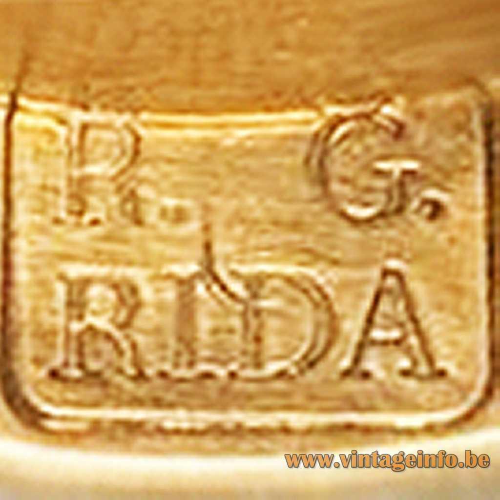 R. G. Rida - Roberto Giulio Rida label logo