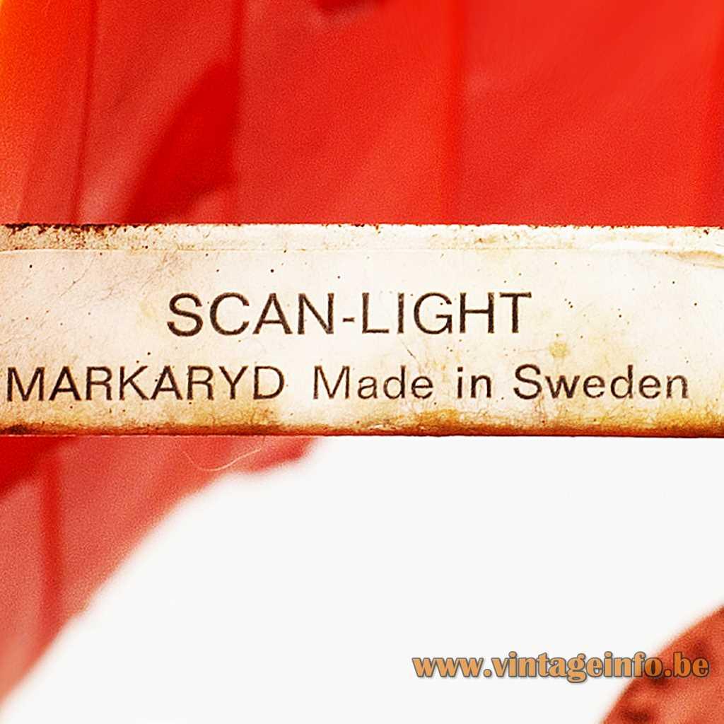 SCAN LIGHT label - Hans-Agne Jakobsson