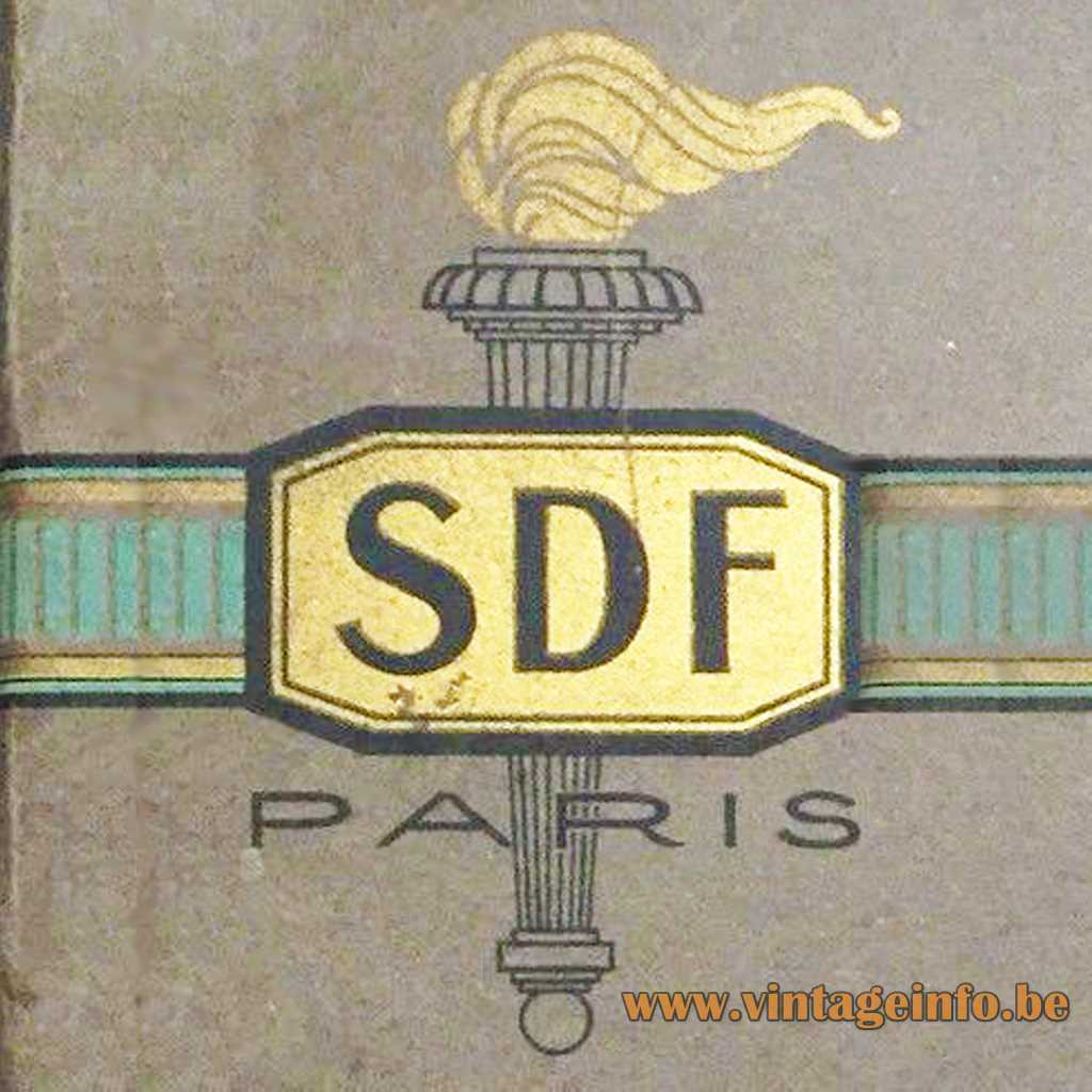 SDF Paris 1920s logo