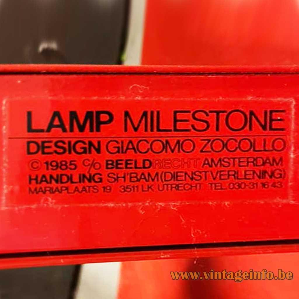 SH'BAM label - design Giacomo Zocollo